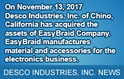 Desco Industries, Inc. News